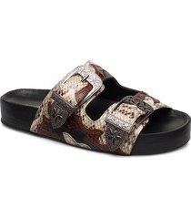 dellis shoes summer shoes flat sandals brun kurt geiger london