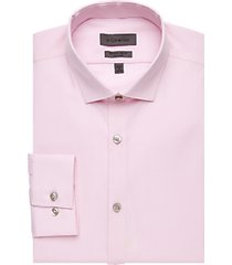 calvin klein rose check extreme slim fit dress shirt