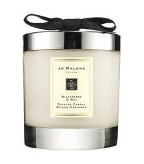 vela perfumada blackberry & bay home candle 200g