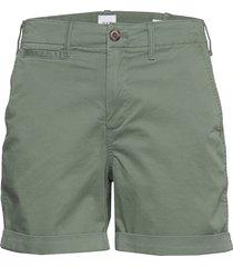 5 high rise khaki shorts shorts flowy shorts/casual shorts grön gap
