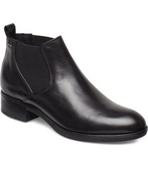 d felicity np abx c shoes boots ankle boots ankle boots with heel svart geox