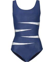 costume intero modellante premium (blu) - bpc selection