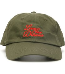 032c baseball cap with 3d embroidery