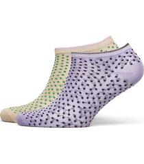 dollie dot w. lingerie socks footies/ankle socks grön becksöndergaard