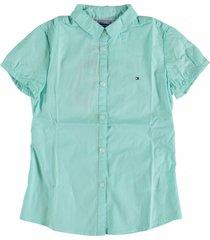 tommy hilfiger lichtblauwe blouse