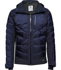 iceshelf jkt m outerwear sport jackets light jackets blauw salomon