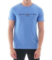 tommy hilfiger logo t-shirt - regatta mw0mw11797