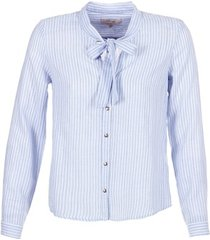 overhemd cream cama striped shirt
