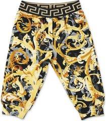 baroque print sweatpants