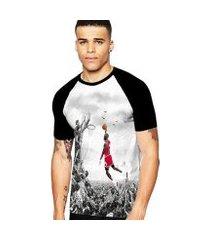 camiseta stompy raglan modelo 145 masculina
