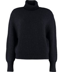 brunello cucinelli ribbed turtleneck sweater