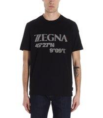 z zegna graphic t-shirt