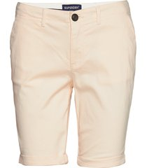 city chino short bermudashorts shorts beige superdry