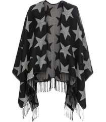 poncho (nero) - bpc bonprix collection