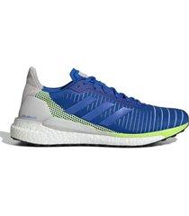 zapatilla azul adidas solar glide