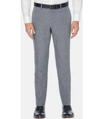 perry ellis men's slim-fit end-on-end suit pants