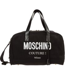 moschino boston duffle bag