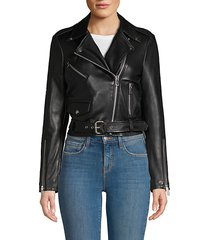 ellette leather jacket