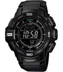 reloj casio prg_270_1a negro resina hombre