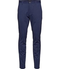 mapaton jersey pant kostuumbroek formele broek blauw matinique