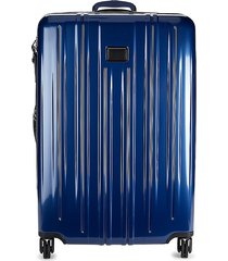 tumi extended trip hardside spinner suitcase - deep blue