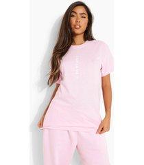 c'est la vie t-shirt, pink