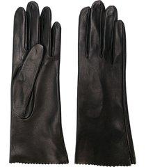 manokhi short gloves - black