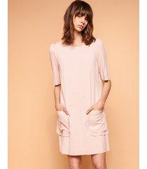 e3ea583b5c Sukienki - Z Kieszeniami - Róż - 402 produkty - Jak Jil