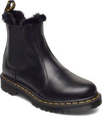 2976 leonore oxblood atlas shoes chelsea boots svart dr. martens