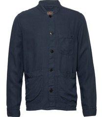 corsoir shirt jacket överskjorta blå morris