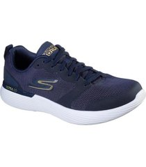 zapatilla go run 400 v2 - slider azul marino skechers