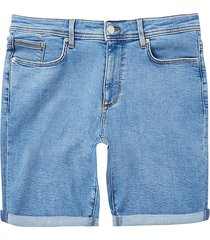river island mens blue skinny fit denim shorts