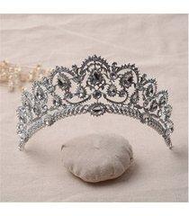 la fascia del partito di cerimonia nuziale della parte superiore della principessa della principessa della regina della sposa della sposa della sposa del cappotto della testa di tiara