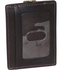 dopp regatta front pocket money clip wallet