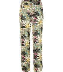 pantaloni a palazzo con cinta elastica confortevole (verde) - bpc bonprix collection