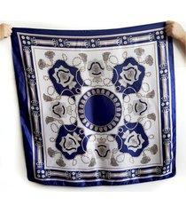 pañuelo azul marino nuevas historias raso