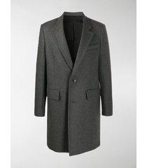 ami paris single-breasted coat