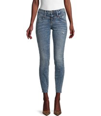 true religion women's halle distressed skinny jeans - thunder - size 24 (0)
