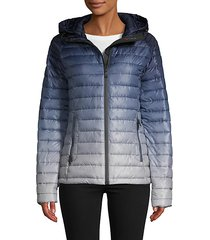 aurora quilted packable puffer jacket
