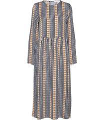 rama dress aop 8325 knälång klänning multi/mönstrad samsøe samsøe