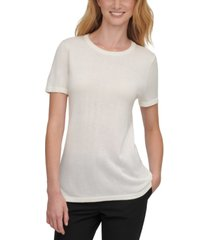 dkny short-sleeve crew-neck top