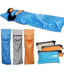 portátil saco dormir outdoor camping hiking viaje ultra-light sobre sleeping bag