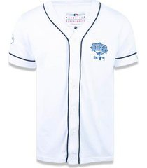 camisa los angeles dodgers mlb new era masculina