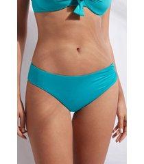 calzedonia high waist swimsuit bottom indonesia eco woman blue size 4