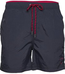 waldo packable swim shorts badshorts blå sebago