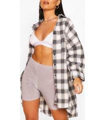 extreme oversized shirt with pockets, navy