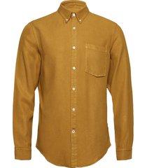 falk 5408 overhemd casual geel nn07