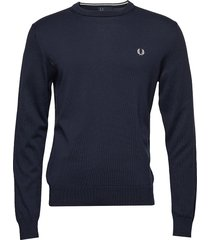 classic cott. c/n sweat-shirt tröja fred perry