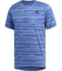 camiseta adidas fl_tec a en hea azul