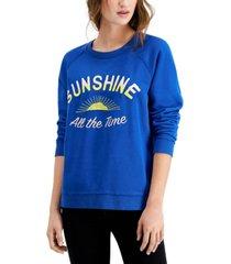 lucky brand sunshine pullover sweatshirt